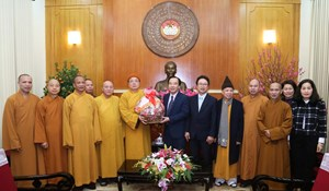 Phát huy nguồn lực của Phật giáo trong phát triển đất nước
