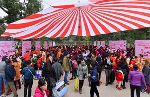 Phiên chợ Tết 0 đồng cho bệnh nhân nghèo tại Hà Nội