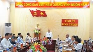 Phó Ban Tuyên giáo Tỉnh ủy Bình Thuận nhận chức Bí thư huyện đảo