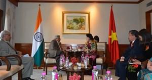 Quan hệ hữu nghị Ấn Độ - Việt Nam ngày càng phát triển tốt đẹp