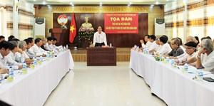 Tọa đàm phát huy vai trò thành viên của Mặt trận tỉnh Quảng Nam
