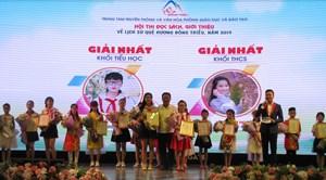 Quảng Ninh: Hội thi đọc sách, giới thiệu về lịch sử thị xã Đông Triều