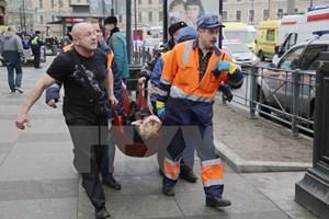Số người thiệt mạng trong vụ nổ tại Saint Petersburg tiếp tục tăng cao