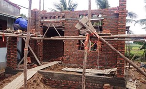 Sơn Động : Hỗ trợ 12 hộ nghèo xây nhà ở