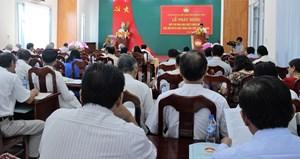 Sơn Tịnh (Quảng Ngãi): Phát động đợt thi đua đặc biệt chào mừng Đại hội