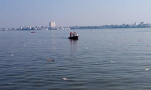 Tăng cường công tác kiểm tra quản lý các hồ nước tại Hà Nội