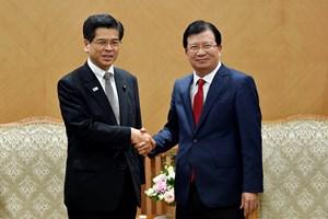 Tăng cường hợp tác với Nhật Bản trong lĩnh vực hạ tầng, phòng chống thiên tai