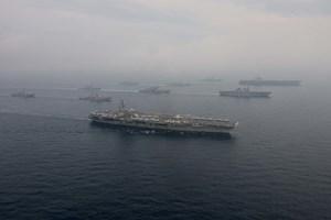 Tàu sân bay Mỹ rời khỏi vùng biển Triều Tiên