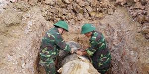 Thanh Hoá: Huỷ nổ quả bom nặng 900 kg