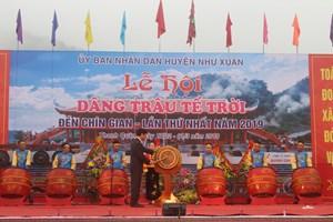Thanh Hoá: Khôi phục lễ dâng trâu tế Trời