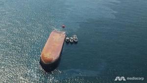 Thêm một vụ va chạm tàu trên vùng biển Singapore
