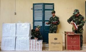 Thu giữ 3.500 gói thuốc lá ngoại nhập lậu