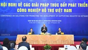 Thủ tướng chủ trì hội nghị bàn giải pháp 'tiếp sức' ngành công nghiệp hỗ trợ