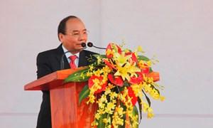Thủ tướng dự lễ khởi công 2 dự án lớn tại Quảng Nam