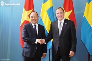 Thủ tướng Nguyễn Xuân Phúc hội đàm với Thủ tướng Thụy Điển