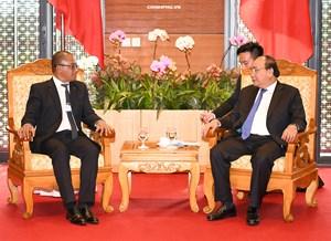 Thủ tướng tiếp Bộ trưởng Ngoại giao Timor Leste