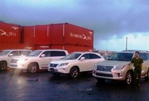 Tịch thu 5 xe hơi xịn nhập lậu vào cảng Tiên Sa