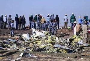 Tìm thấy 2 hộp đen của chiếc máy bay Ethiopia gặp nạn