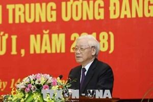 Tổng Bí thư đề nghị các Ủy viên Trung ương học tập với tinh thần khiêm tốn, cầu thị