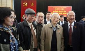 Tổng Bí thư Nguyễn Phú Trọng: Cán bộ phải gắn với dân, được nhân dân ủng hộ