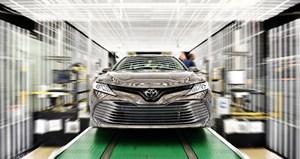 Toyota Camry 2018 chính thức đi vào sản xuất