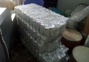TP Hồ Chí Minh: Thu giữ hàng nghìn chai sữa dưỡng thể giả