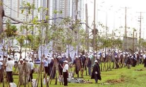 TP Hồ Chí Minh: Trồng 300 cây xanh ở cửa ngõ phía Đông