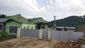 Trại lợn xây trái phép phá vỡ quy hoạch