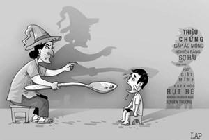 Tranh cổ động tuyên truyền phòng, chống bạo lực, xâm hại trẻ em