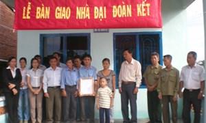 Trao tặng 8 ngôi nhà Đại đoàn kết tại Quảng Nam