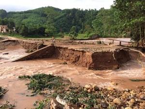 Quảng Ninh trích 2 tỷ đồng cho 2 huyện miền núi xử lý hậu quả mưa lũ