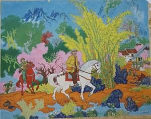 Triển lãm 'Những nẻo đường mùa xuân'