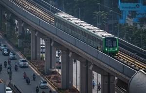 Trợ giá vé đường sắt trên cao Cát Linh - Hà Đông