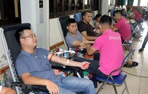Nam Định: Ngày hội 'Những giọt hồng hè' thu được hơn 1.000 đơn vị máu