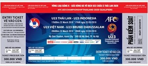 Vé xem U23 Việt Nam tại vòng loại U23 Châu Á thấp nhất 150.000 đồng