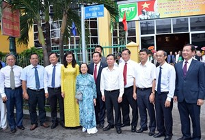 Viện sĩ Dương Quang Trung được đặtlàm tên đường ở TP Hồ Chí Minh