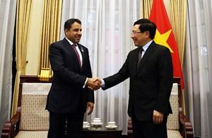 Việt Nam mong muốn tăng cường hợp tác thương mại, đầu tư với UAE