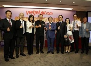 Vietjet mở cùng lúc 2 đường bay Hà Nội – Đài Bắc, TP HCM – Cao Hùng
