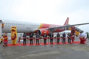 VietjetAir chính thức mở đường bay Vân Đồn - TP Hồ Chí Minh