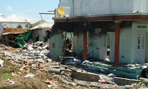 Vụ nổ lớn ở đảo Phú Quý: 5 người bị thương và hơn 30 căn nhà bị ảnh hưởng