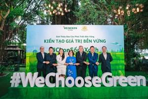 Heineken Việt Nam gom nắp chai bia, xây cầu cho Đồng bằng sông Cửu Long