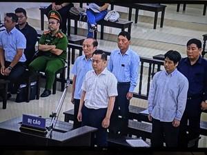 Xét xử phúc thẩm Vũ 'nhôm' và các cựu cán bộ công an: Hai 'sếp cũ' phủ nhận lời khai của Vũ 'nhôm'