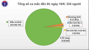 Việt Nam chỉ còn 6 ca dương tính với Covid-19