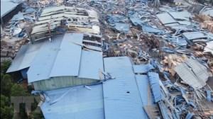 Vĩnh Phúc: Xác định danh tính nạn nhân vụ gió lốc làm sập xưởng gỗ