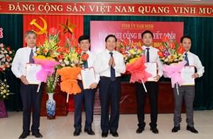 Nam Định: Sáp nhập 2 Đảng bộ khối trực thuộc Tỉnh ủy