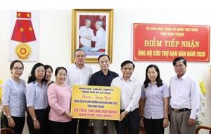 TP Hồ Chí Minh: Thăm, tặng quà đồng bào bị ảnh hưởng hạn hán tỉnh Ninh Thuận