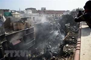 41 người được xác nhận thiệt mạng trong vụ rơi máy bay ở Pakistan