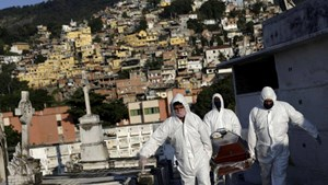 Sau Mỹ, Brazil trở thành ổ dịch lớn thứ hai thế giới