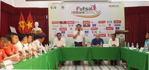 Chuẩn bị khai mạc Giải Futsal HDBank Vô địch Quốc gia 2020