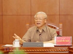 [ẢNH] Tổng Bí thư, Chủ tịch nước chủ trì cuộc họp về phòng, chống tham nhũng